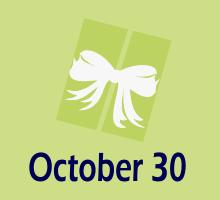 30 Oktober Ulang taun