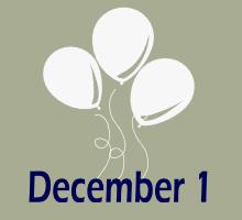 1. Dezember Gebuertsdeeg